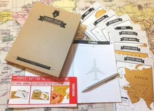 Jurnal de voiaj Travelogue cu harti razuibile4