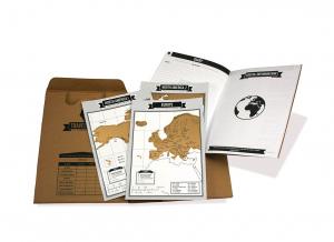 Jurnal de voiaj Travelogue cu harti razuibile11