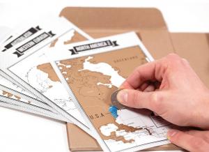 Jurnal de voiaj Travelogue cu harti razuibile6