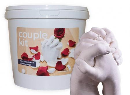 Kit mulaj 3D pentru iubiti, mainile noastre impreuna