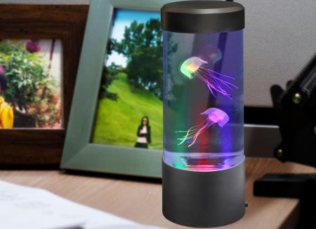 Lampa acvariu cu meduze0