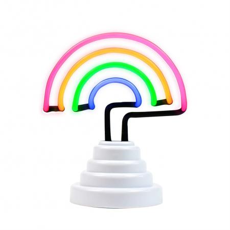 Lampa Neon Curcubeu3