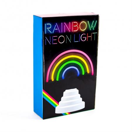 Lampa Neon Curcubeu4