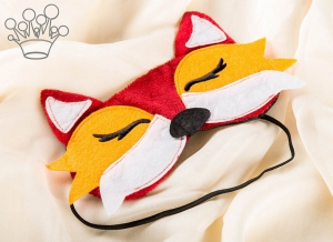 Masca de dormit Vulpe0