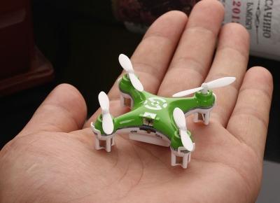 Mini Drona Cheerson CX-10 Verde2