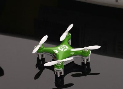 Mini Drona Cheerson CX-10 Verde0