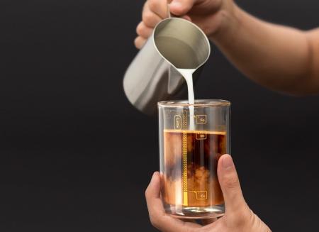 Pahar cu proportii pentru cafea1