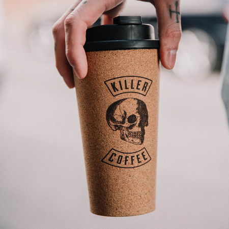 Pahar de pluta Killer Coffee2