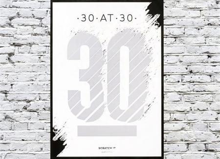Poster razuibil 30 de ani
