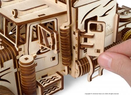 Puzzle 3D Camion VM-03 din lemn Ugears12