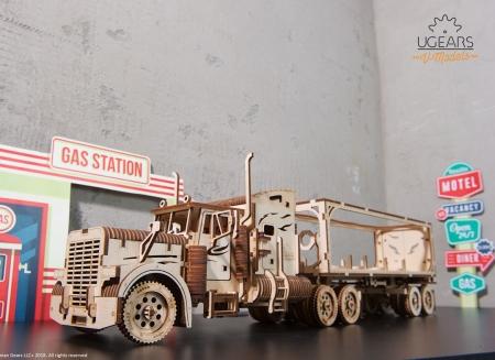 Puzzle 3D Camion VM-03 din lemn Ugears19
