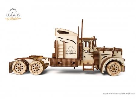Puzzle 3D Camion VM-03 din lemn Ugears7