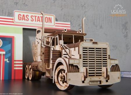 Puzzle 3D Camion VM-03 din lemn Ugears2