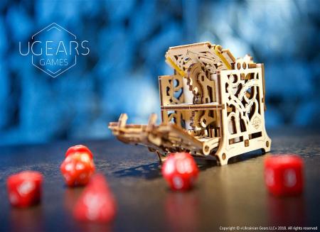 Puzzle 3D Cutie mecanica zaruri Ugears3
