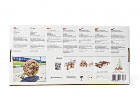 Puzzle 3D Monociclu Ugears11