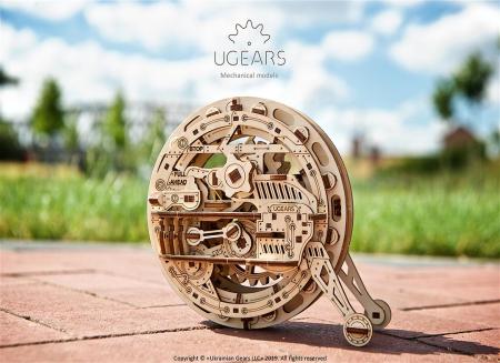 Puzzle 3D Monociclu Ugears6
