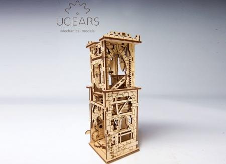 Puzzle 3D Turn Archballista din lemn Ugears15