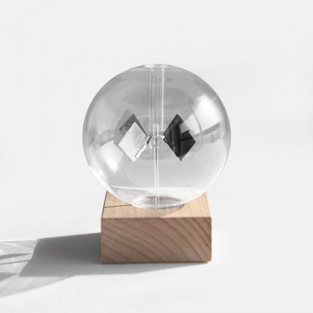 Radiometru Solar cu suport de fag