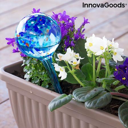 Set 2 Picuratoare Glob pentru ghivece cu flori1