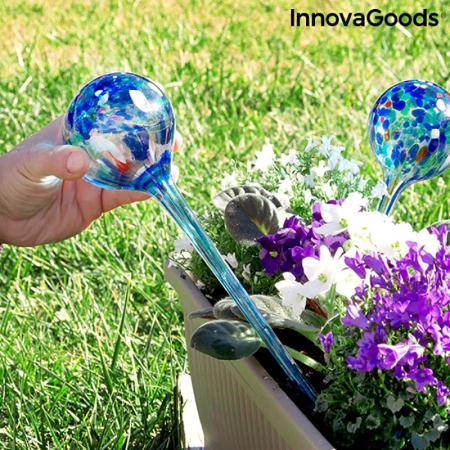 Set 2 Picuratoare Glob pentru ghivece cu flori2