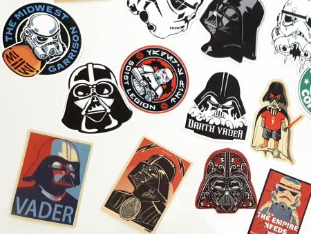 Set 25 stickere laptop Star Wars3