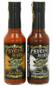 Set 3 Sosuri extrem de picante Psycho Juice