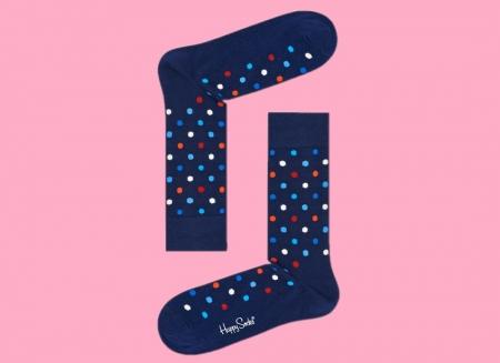 Sosete Happy Socks cu buline colorate2
