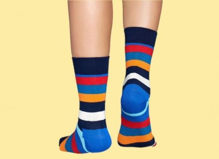 Sosete Happy Socks cu Dungi Colorate3