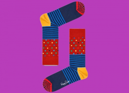 Sosete Happy Socks Stripes and Dots2