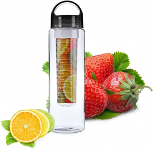 Sticla de apa cu infuzor de fructe1