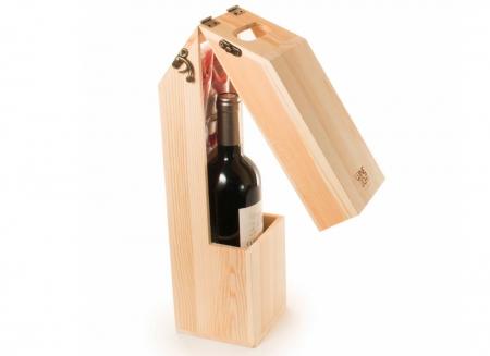 Suport din lemn veioza pentru vin5