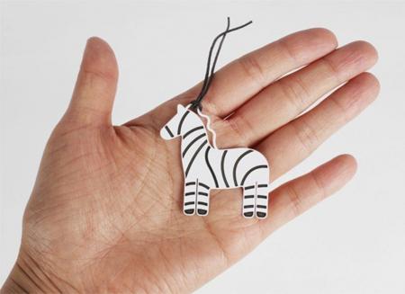 Semn de carte zebra0