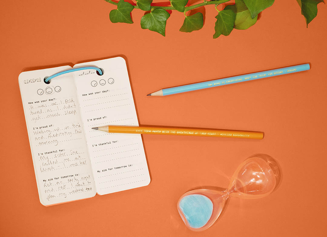 mindfulness kit de buzunar pentru mama