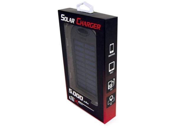 Baterie Externa Solar PowerBank 5.000 MAH