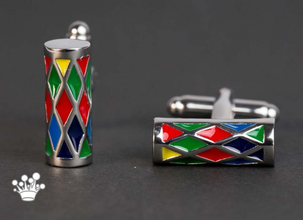 Butoni cilindrici colorati