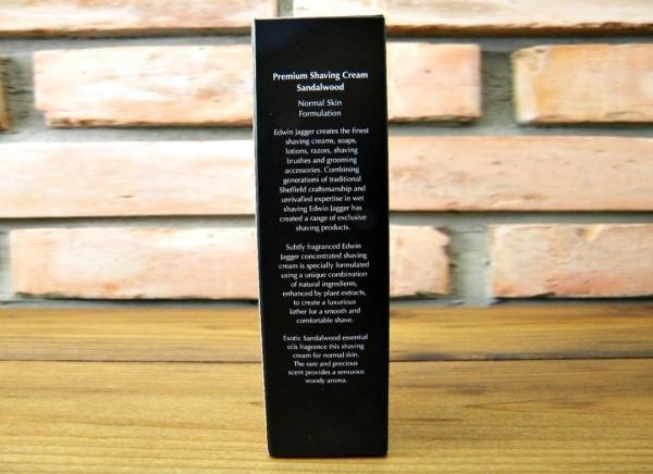 Crema pentru barbierit Sandalwood 75ML, Edwin Jagger