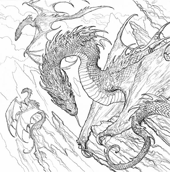 Carte de colorat pentru adulti Game of Thrones