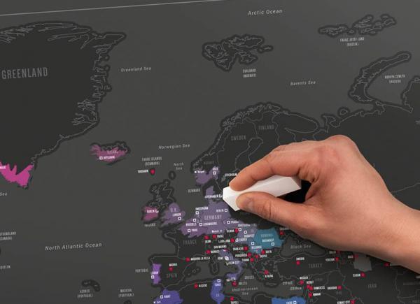 Harta razuibila Capitalele Lumii