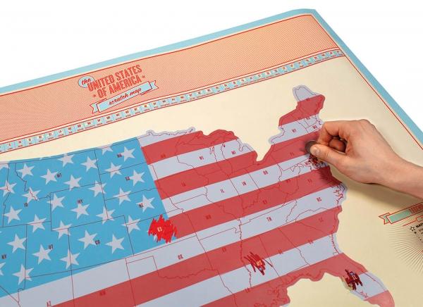 Harta razuibila USA Edition