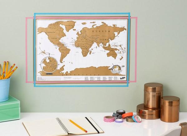 Harta razuibila portabila- varianta mini