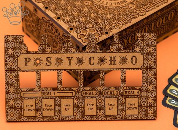 Joc Ruleta Ruseasca PSYCHO LOCO Deluxe+ 2 seturi de Gloante smechere ciocolata