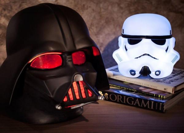 Lampa Darth Vader 3D