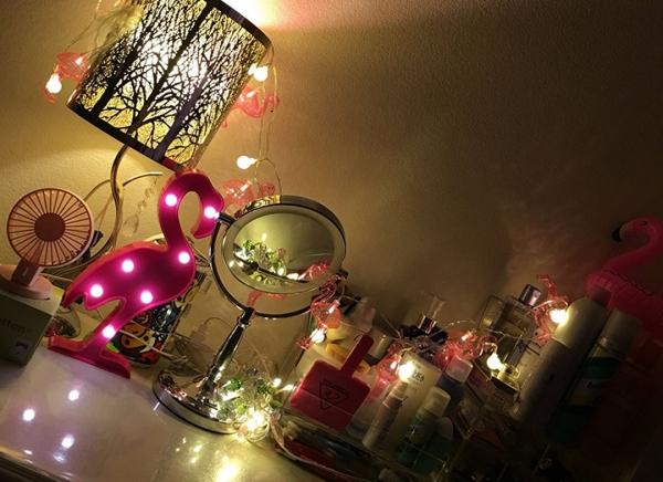 Lampa de veghe LED Flamingo