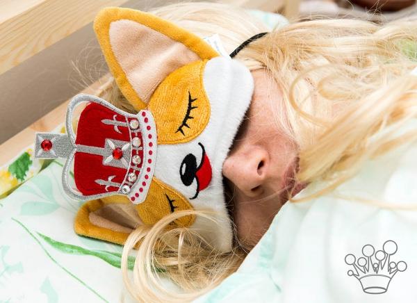 Masca de dormit Corgi Regal