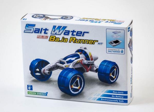 Masina Baja cu motor cu apa sarata