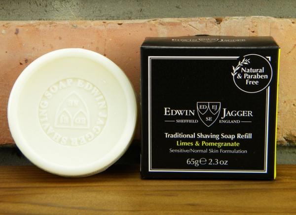 Sapun pentru barbierit Limes & Pomegranate 65G, Edwin Jagger