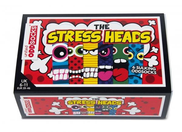 Set 6 Sosete cu Fete Stresate