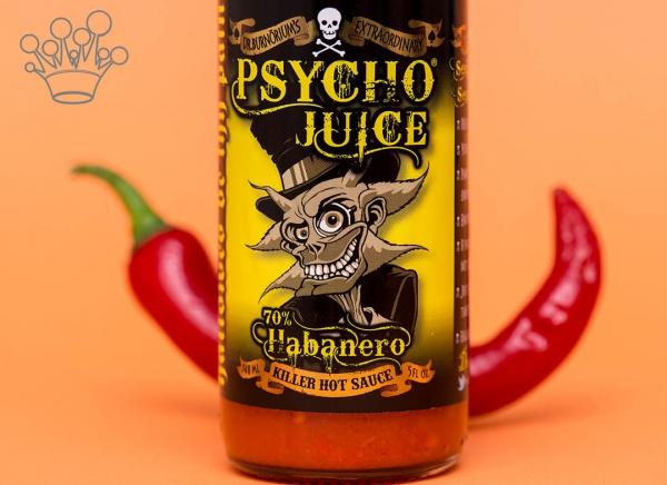 Sos picant Psycho Juice Habanero Pepper [iuteala 8]