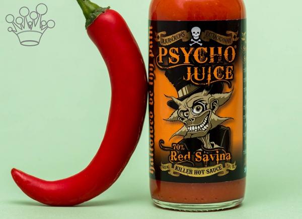 Sos picant Psycho Juice Red Savina Pepper [iuteala 9]