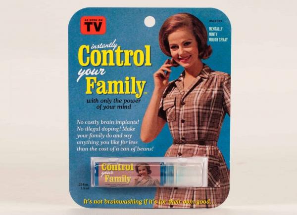 Spray de gura Control your Family
